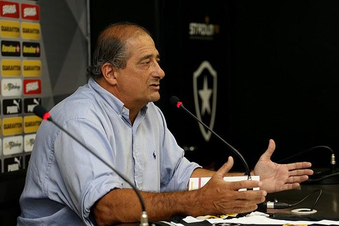 Sérgio Landau, diretor executivo do Botafogo (Foto: Satiro Sodré / AGIF)