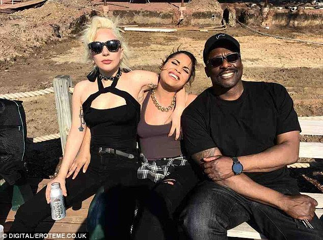 Rock and roll! Lady Gaga has proven she can be as down-to-earth as the rest of us as she hit the road on a motorbike trek on Monday
