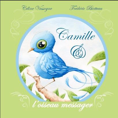Couverture Camille & l'oiseau messager
