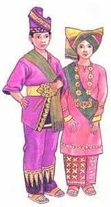Model Terkini 15 Gambar Baju Adat Sumatera Barat