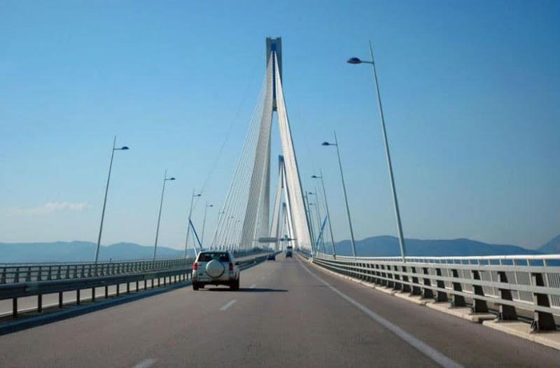 Σας αφορά: Αυξάνονται τα διόδια στη γέφυρα Ρίου - Αντιρρίου