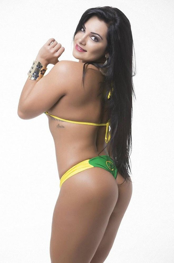Flavia Cristina, представительница штата Эспириту-Санту. Miss Bumbum, бразилия, конкурс