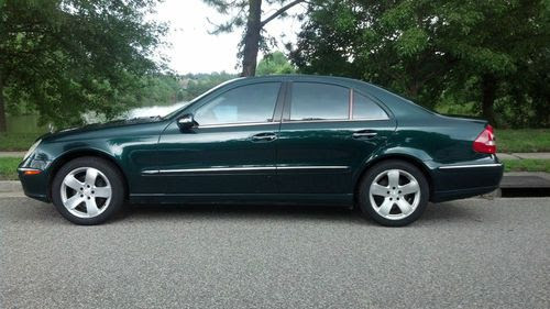 Sell used 2003 Mercedes-Benz E500 Base Sedan 4-Door 5.0L ...
