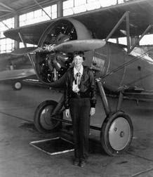 La pionera Amelia Earhart, en una imagen de 1936.