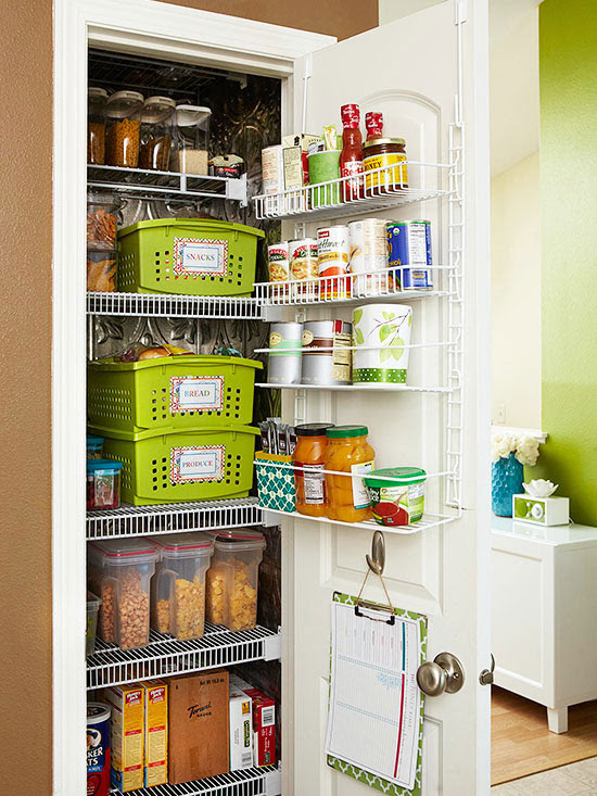 Small-Pantry Storage