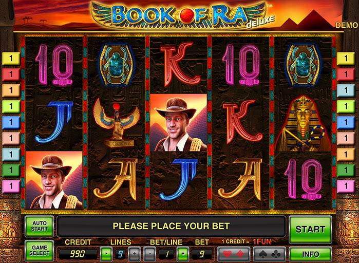 Игровой автомат Book of Ra даст вам шанс обрести сокровища древней египетской цивилизации совершенно бесплатно, без регистрации и смс.Магические книги сделают вас самым богатым.Вы можете играть онлайн в игровой слот.Павлово