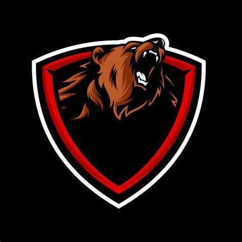 logotipo de la mascota de grizzly vector premium logos