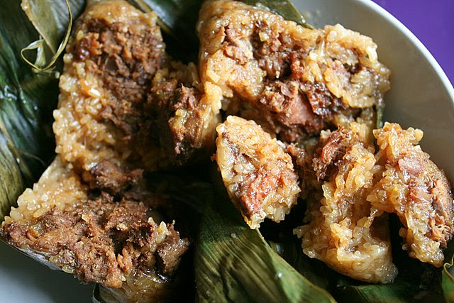 Malay bakchang use mutton and chicken to replace pork