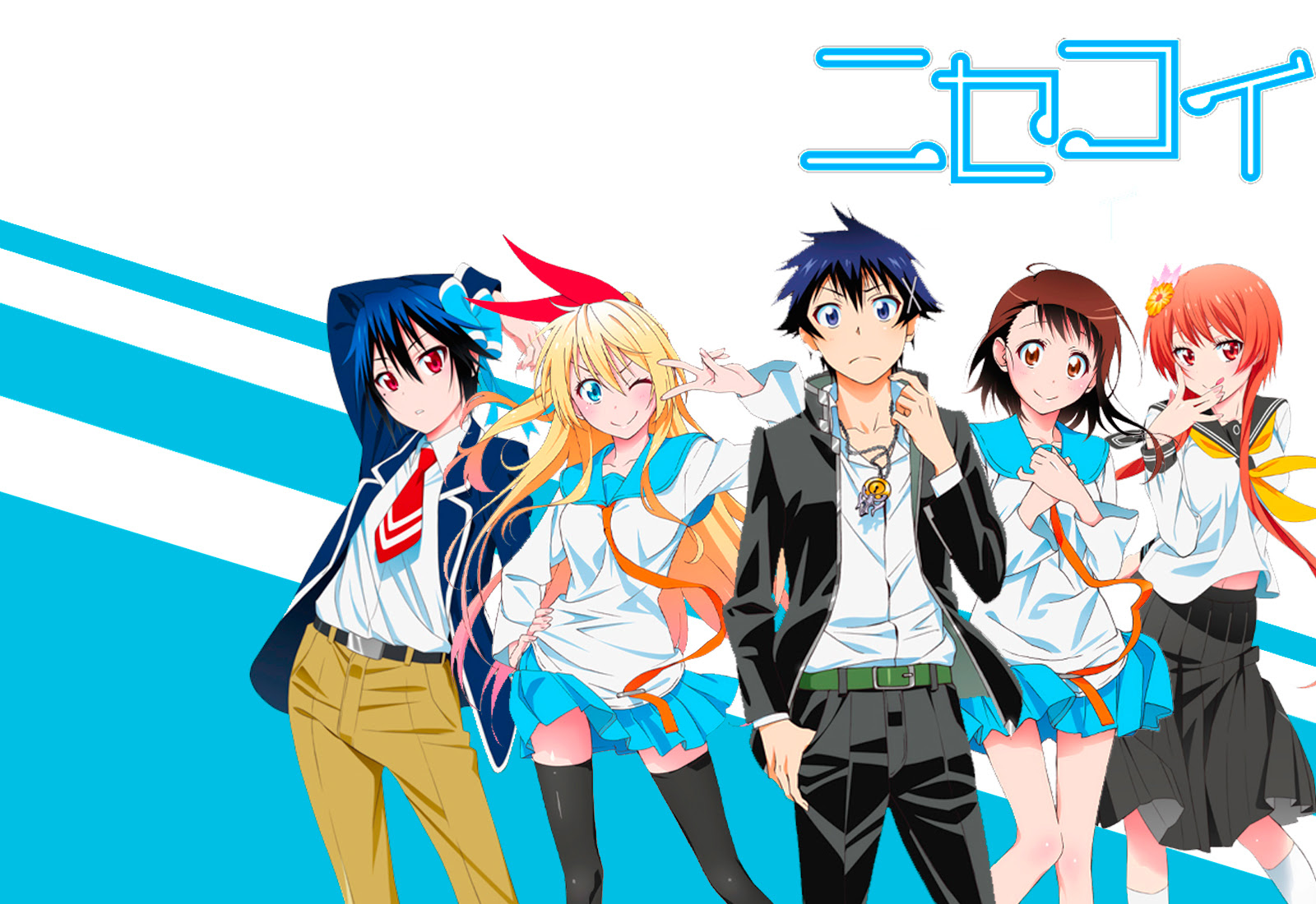 Unduh 44+ Wallpaper Anime Hd Nisekoi HD Terbaik