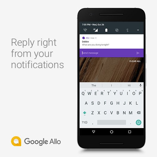 Google Allo cho điện thoại android