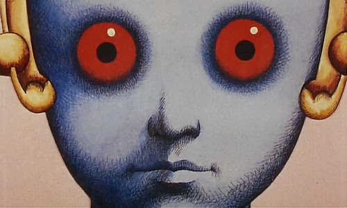 Fantastic Planet Still Frame From 1973 French Animated