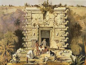 Lámina 11: Gateway, Great Teocallis, Uxmal