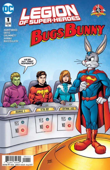 Legion of Super Heroes - Bugs Bunny Special #1
