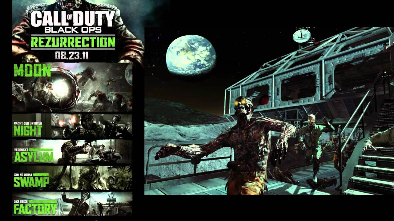 Black Ops Dlc Map Pack 4 Rezurrection All Zombies