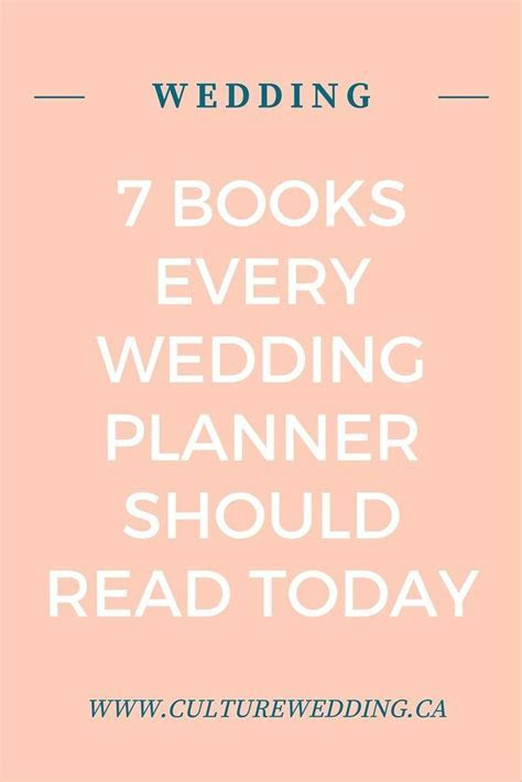 The Ultimate List of the Best Wedding Planner Book to read