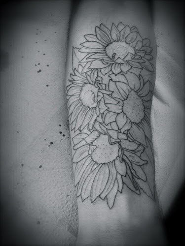 Awesome Sunflower Tattoo Tattoomagz