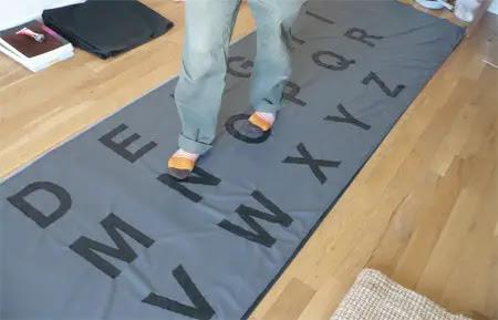 Giant Fabric Keyboard