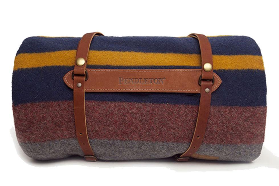 Pendleton Blanket, $135; williams-sonoma.com