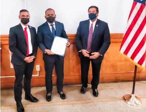 AUTORIDADES DE MASSACHUSETTS Y LAWRENCE EN EE.UU DECLARAN HIJO DISTINGUIDO AL DOMINICANO VÍCTOR PICHARDO