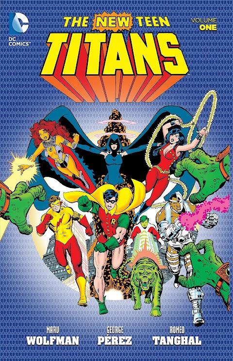 Dc Comics The New Teen Titans