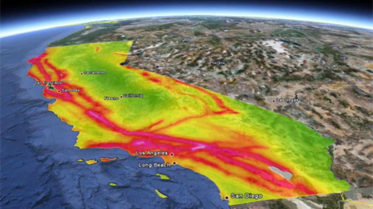 Resultado de imagen de California en riesgo de Mega-terremoto