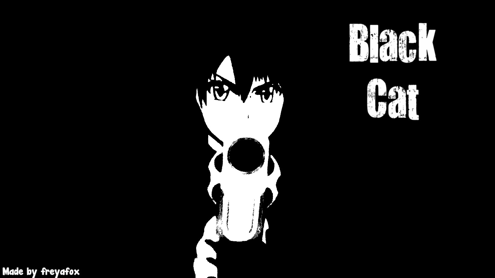 Anime Wallpaper Black And White New Wallpapers