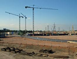 Olympic Stadium (four years to go)