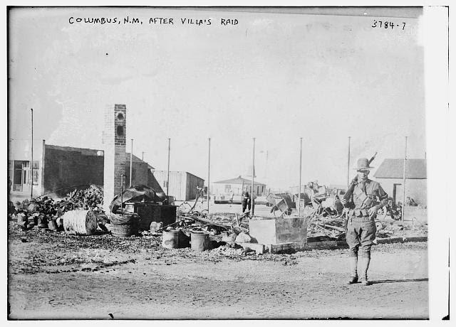 Columbus, N.M. after Villa's raid