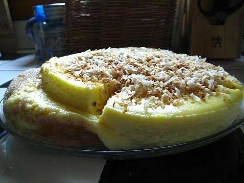 Coconut Cheesecake Fail