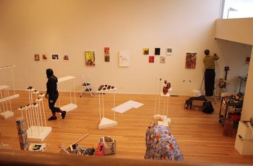 Hoffman Gallery main space