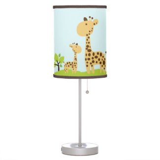 Giraffe Organic Planet Lamp