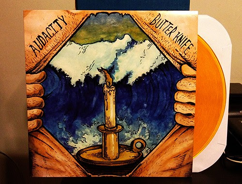 Audacity - Butter Knife LP - Yellow Vinyl by Tim PopKid
