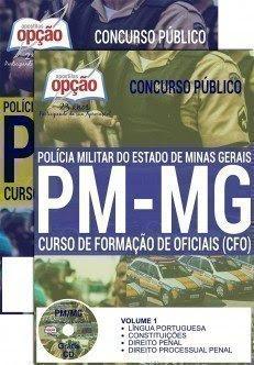 Apostila PM MG Curso de Formação de Oficiais (CFO) 2016.