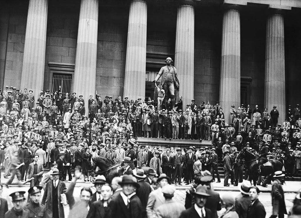 Black Thursday - The Wall Street Crash of 1929 - SciHi ...