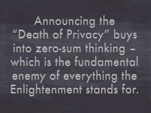 Death-privacy