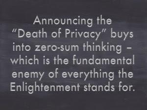 Death-privacy