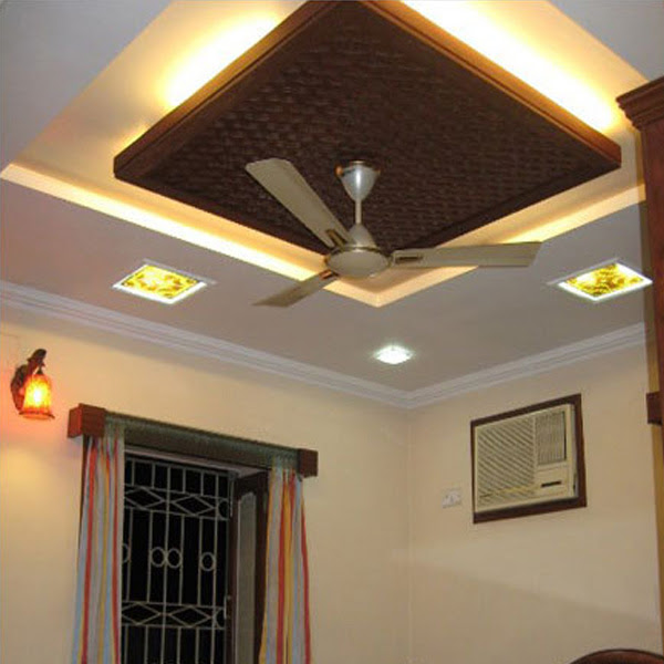 False Ceiling Designs For Living Room With Two Fans Decorating