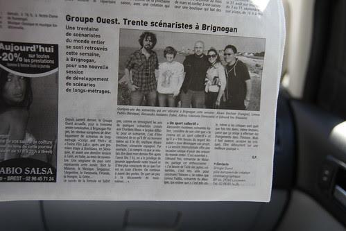 I was on Le Télégramme