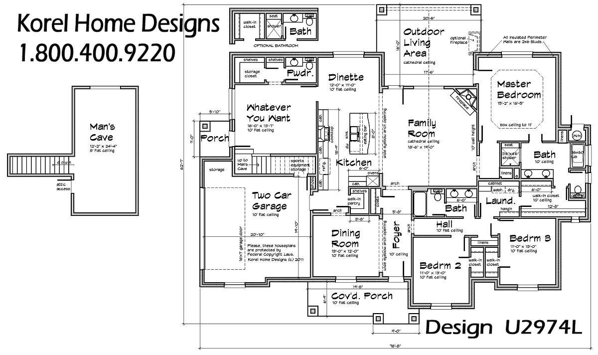 Texas House Plan U2974L Texas House Plans Over 700 Proven Home Designs Online by Korel Home - Colonial House Plan With 4 Bedrooms And 3.5 Baths Plan 6001
