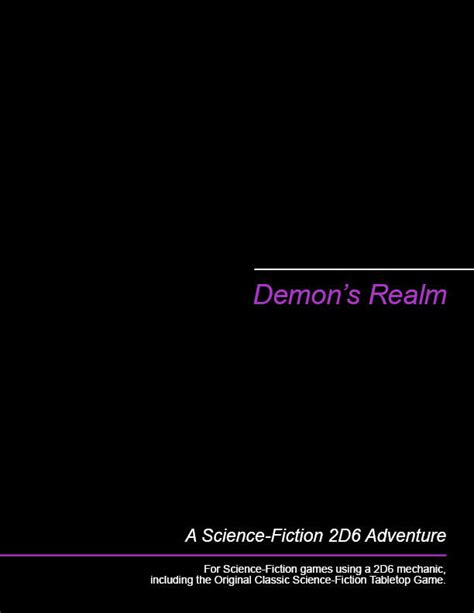 Demon's Realm: A 2D6 Science-Fiction Campaign Starter