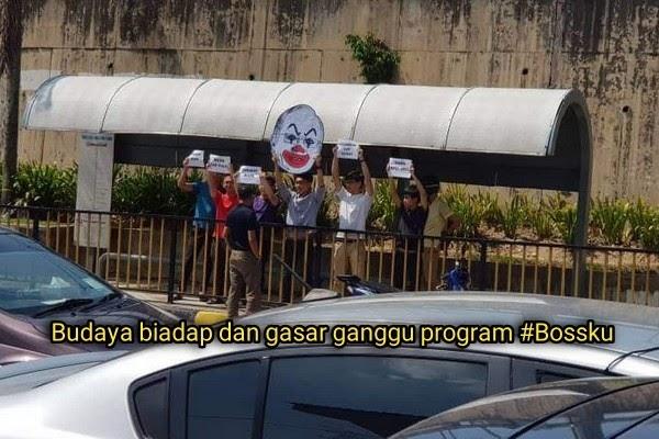 [Video] Budaya biadap dan gasar ganggu program #Bossku