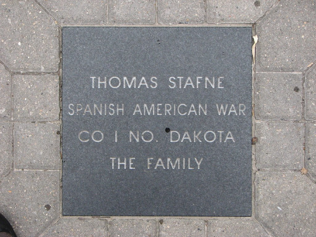 Tom Stafne, veteran of the Spanish American War and my son's great-great-grandfather