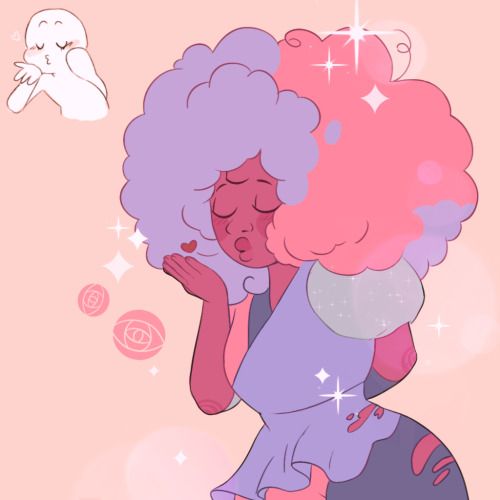 Could you do cotton candy garnet for d6?