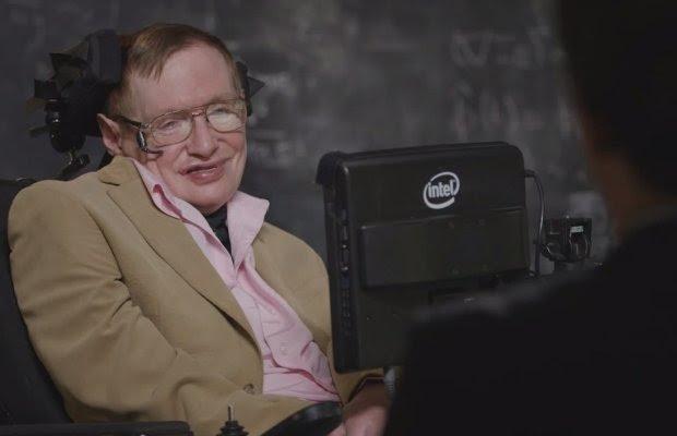 Stephen Hawking w ''Last Week Tonight with John Oliver''