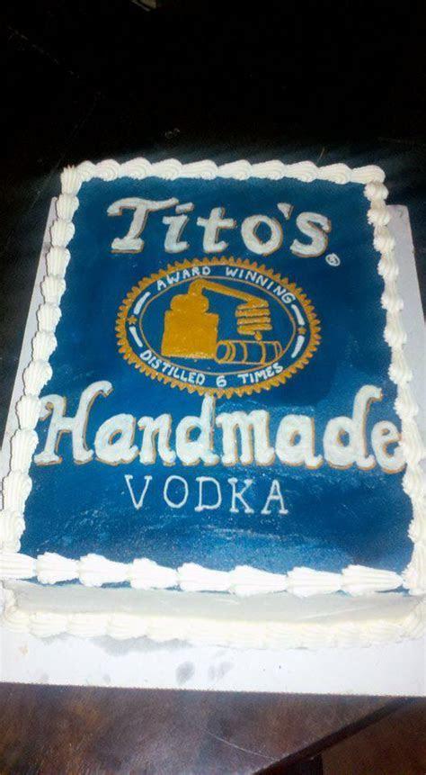 Sugar Castles Cakes and Sweets: Tito's Vodka Cake/ Vodka Cake