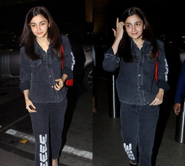 [In pics] Alia Bhatt leaves for Bulgaria to join Ranbir Kapoor on the sets of Brahmastra