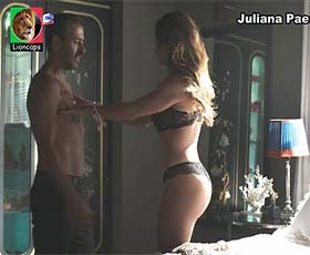Juliana Paes super sensual na novela Dona do Pedaço