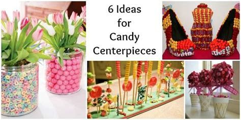 Cheap Sweet 16 Centerpieces   Ideas for Candy Centerpieces