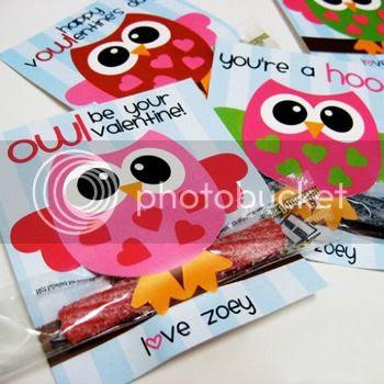 Owl Valentines