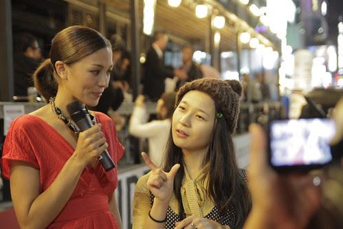 Kkobbi being interviewed
